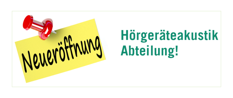 Banner HP FB Eroeffnung Akustikabteilung Pratteln
